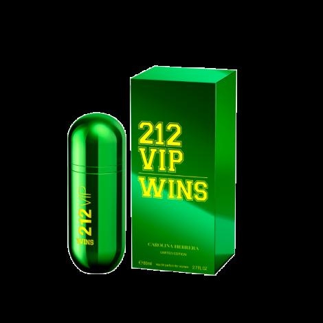 PERFUME CAROLINA HERRERA 212 VIP WINS EDP 80ML