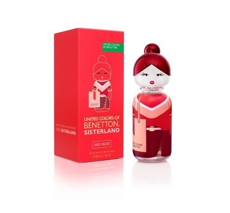 BNT SISTERLAND RED ROSE WOMAN