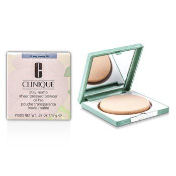 Clinique Polvo Compacto Stay Matte