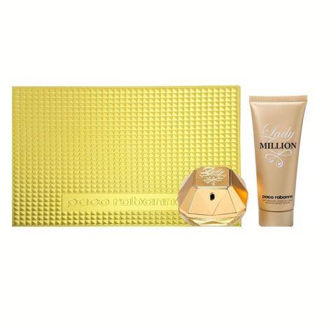 Paco Rabanne Set Lady Million Mujer Eau de Parfum 80ML + Loción