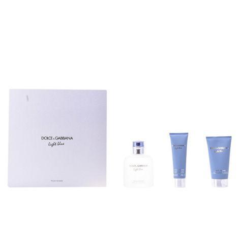 Dolce & Gabanna Set Light Blue Hombres EDT 125ML + Gel + Bálsamo