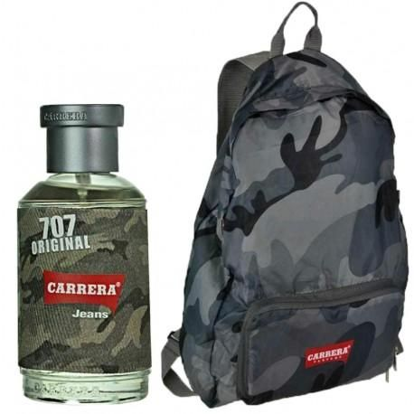 Carrera Set Camouflage Uomo Para Hombres EDP 75ML + Mochila
