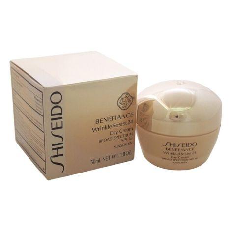 Shiseido Crema Anti-Arrugas Benefiance Day Cream Wrinkle Resist-25 SPF 18